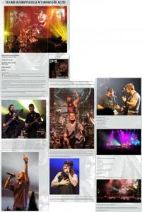 Review by Magnus Bergström for hårdrock.com